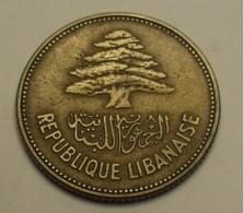 1952 - Liban - Lebanon - 25 PIASTRES - KM 16.1 - Lebanon