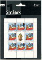 DANEMARK 2002 N° 1302 ** Feuille Neuve MNH  Superbe Bandes Dessinées L' Ourson Rasmus Klump Bateau Mary Hansen Dessins - Denemarken