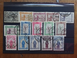 PORTOGALLO 1895 - S. Antonio Da Padova Nn. 109/23 Serie Completa Timbrata (valore 1.750 Euro) + Spedizione Raccomandata - 1892-1898 : D.Carlos I