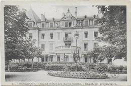CPA - BESANCON - GRAND HOTEL DES BAINS SALINS - CHANTELAT PROPRIETAIRE - 21 - Besancon