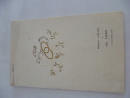 89- YONNE- AUXERE- Menu De Mariage 1959 - Menu