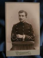 Photo Format Cabinet Photographie Des Arts  - Militaire élégant Lieutenant Du 19e D'artillerie L415 - Photos