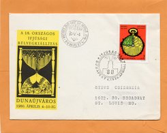 Hungary 1980 FDC Mailed - FDC