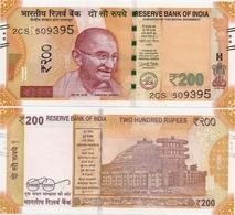 INDIA       200 Rupees       P-113       2017       UNC  [ Sign. Patel - Letter R ] - Inde