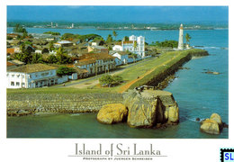 Sri Lanka Postcards, Galle Fort UNESCO, Postcrossing - Sri Lanka (Ceylon)