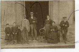 CARTE PHOTO. CPA . D27. BRETEUIL Sur ITON. Photo Devant La Mairie . 23 Septembre 1909 - Breteuil