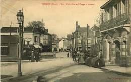 170119 - 27 VERNON Rue D'Albuféra Et Passage à Niveau - Tonneau Vins Liqueurs Tabac Labbé - Vernon