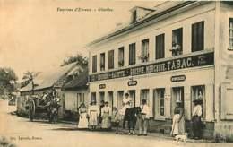170119 - 27 GLISOLLES Environs D'Evreux - épicerie Mercerie Tabac LEGENDRE HACHETTE Ancienne Maison HOUDOU - Frankrijk