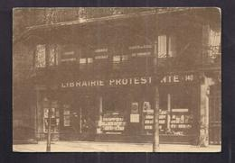 CPSM PROTESTANTISME - LIBRAIRIE PROTESTANTE - 140 , BldSaint-Germain - PARIS : Librairie En 1938 CP Cadeau - Religions & Beliefs