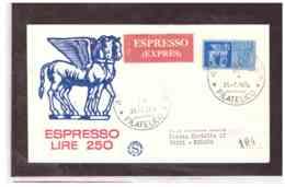 FDC5069   -   FORLI'  31.7.1974    /      FDC  LIRE 250  ESPRESSO - 6. 1946-.. Repubblica