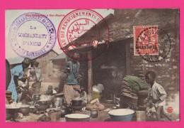 CPA (Réf Z 1072) (MAROC) Nos Sénégalais à BER-RECHID La Gare Campagne Du Maroc 1907-1909 (beau Cachets Militaires) - Other