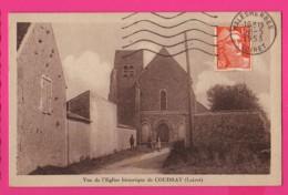 CPA (Réf Z 1097) (45 LOIRET ) COUDRAY  Vue De L'église Historique  De Coudray - France