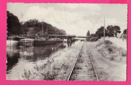 CPSM PF (Réf Z 1104) (59 NORD) Le Pont De FLERS-en-ESCREBIEUX (Péniche, Animée) - Autres Communes