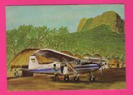 CP (Réf Z 1106) (TRANSPORT) Avion De Tourisme VOYAGEZ FLY AIR GUINEE - Avions