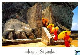 Sri Lanka Postcards, Sigiriya, Lion Paw, UNESCO, Postcrossing - Sri Lanka (Ceylon)
