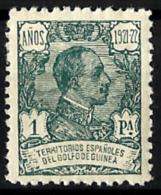 Guinea Española Nº 164 Con Charnela - Guinea Española