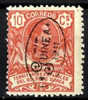 Guinea Española Nº 75 Con Charnela - Guinea Española