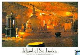 Sri Lanka Postcards, Dambulla, Cave Temple, UNESCO, Postcrossing - Sri Lanka (Ceylon)