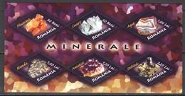 D204 2006 ROMANIA NATURE GEOLOGY MINERALS MINERALE 1KB MNH - Minéraux