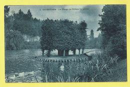 * Zaventem - Saventhem (Vlaams Brabant - Brussel) * (SBP, Nr 9) Les étangs Du Chateau Carpentier, Cygne, TOP - Zaventem