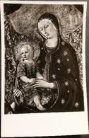 Ak Italien - Siena - Accademia Di Bella Arti - Madonna - Virgen Mary & Madonnas