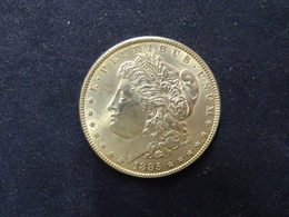 Morgan Dollar 1885 - Emissioni Federali