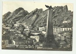 PIETRAPERTOSA ( POTENZA ) MONUMENTO AI CADUTI E VEDUTA PANORAMICA  VIAGGIATA FG - Potenza