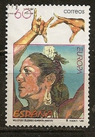 Espagne Spain 1996 Europa Flamenco Dance Obl - 1931-Tegenwoordig: 2de Rep. - ...Juan Carlos I