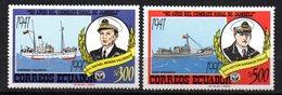 Serie Nº 1248/9  Ecuador - Barcos