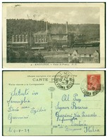 CARTOLINA - FRANCIA - CV920  FRANCE 1929 Knutange (Moselle) Usine De Fontoy, FP, Viaggiata Per L'Italia 1929, - Frankreich