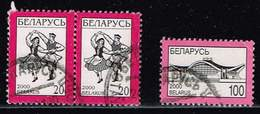 Belarus 2000, Michel# 362 + 382 I O - Belarus
