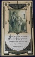 """Antico Santino Holy Card """" PRIMA COMUNIONE """" 19179  Ed. De G.  Paris - Religion & Esotérisme"""