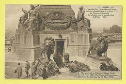 * Brussel - Bruxelles - Brussels * (Phototypie A. Dohmen, Nr 23) Tombe D'un Soldat Inconnu Belge, Graf Onbekende Soldaat - Bruxelles-ville