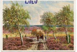 ARTS 117 : Attelage De Foin Peinture De B De Bruycker , Zur Erntezeit ( Luneburge Heide ) édit. Emil Kohn N° 2188 - Peintures & Tableaux