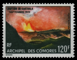 Komoren 1973 - Mi-Nr. 159 ** - MNH - Vulkan Karthala - Comores (1975-...)