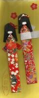 Poupées Japonaises (2) Sous Emballage Origine. - Poupées
