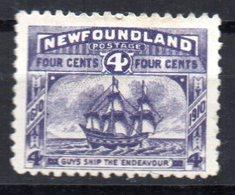 Sello Nº 75 Newfoundland - 1908-1947