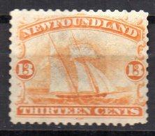 Sello Nº 25  Newfoundland - Newfoundland