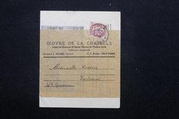FRANCE - Type Blanc Sur Bande Journal D 'Alençon Pour Carbonne - L 21123 - 1921-1960: Periodo Moderno