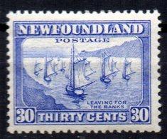Sello Nº 185  Newfoundland - Newfoundland