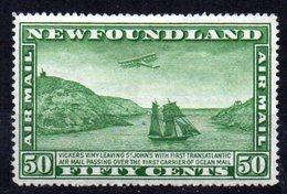 Sello Nº A-7  Newfoundland - Newfoundland
