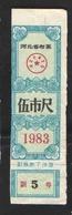 КИТАЙ  COUPON PRODUCTS - Chine