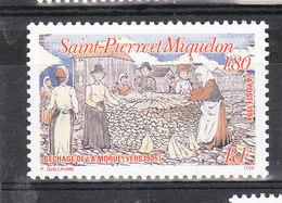SAINT PIERRE ET MIQUELON YT 596 Neuf ** - St.Pierre & Miquelon