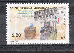 SAINT PIERRE ET MIQUELON YT 597 Neuf ** - St.Pierre & Miquelon