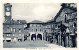 REGGIO EMILIA - Piazza Vittorio Emanuele - Reggio Nell'Emilia
