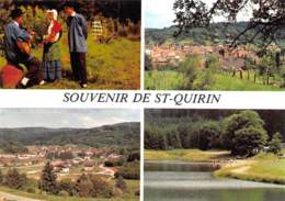 MOSELLE  57    SAINT QUIRIN  SOUVENIR  QUATRE VUES - Frankreich