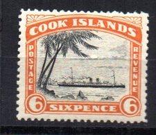 Sello  Nº 36 Cook Island - Islas Cook