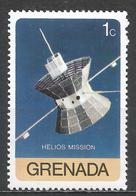 Grenada 1976. Scott #757 (MNH) Helios Spacecraft In Space * - Grenada (1974-...)