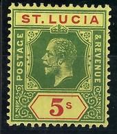 Sainte Lucie - N° 67 * - Neuf Avec Charnière - TB - Ste Lucie (...-1978)