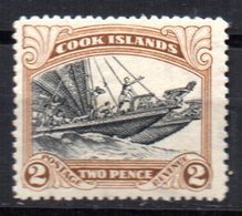 Sello  Nº 33  Cook Island - Islas Cook